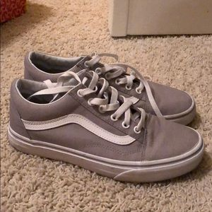 Grey Old Sokol Vans!